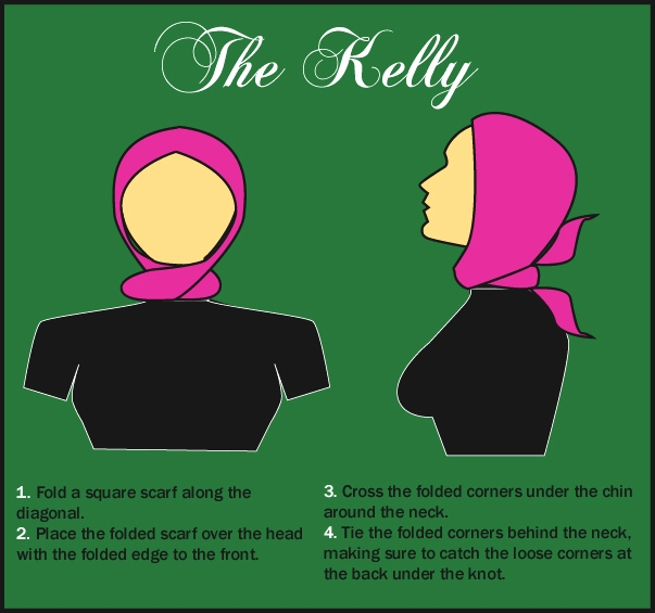 kellyscarf Fashion Friday: Ways to Wear Scarves