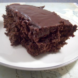 Little Black Dress Brownie Recipe